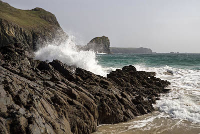 Photograph - Kynance Cove 1 by Shirley Mitchell