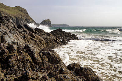 Photograph - Kynance Cove 2 by Shirley Mitchell