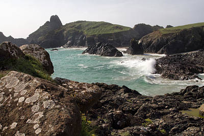 Photograph - Kynance Cove 4 by Shirley Mitchell
