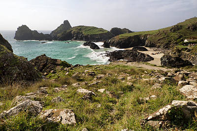 Photograph - Kynance Cove 5 by Shirley Mitchell