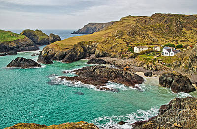 Kernow Photograph - Kynance Cove by Chris Thaxter