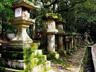 Photograph - Kyoto - Shrine by Jacqueline M Lewis