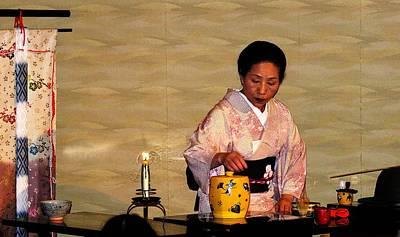 Photograph - Kyoto - Tea Ceremony by Jacqueline M Lewis