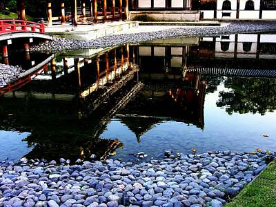 Photograph - Kyoto -  Byodo-in - Temple Reflection by Jacqueline M Lewis