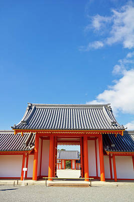 Photograph - Kyoto Imperial Palace by Alex Barlow