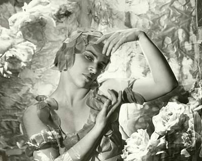 Kyra Nijinsky In Le Spectre De La Rose Art Print
