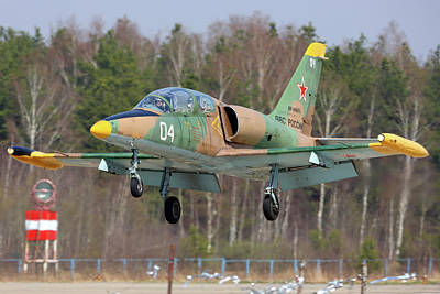 Photograph - L-39 Training Aircraft Of The Russian by Artyom Anikeev