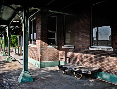 Photograph - L And N Train Depot  by Greg Jackson