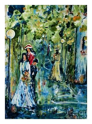 Mon Premier Bal , Higher Resolution Art Print by Aline Halle-Gilbert
