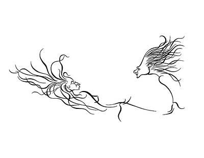 L Chaim Art Print by Dan Redmon