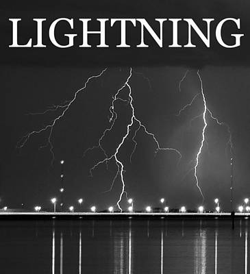 Photograph - Lightning by David Lee Thompson