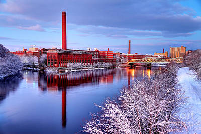 Noreaster Photograph - Winter In Lowell by Denis Tangney Jr