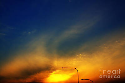 Photograph - L I E Sunset In Queens by Steven Macanka