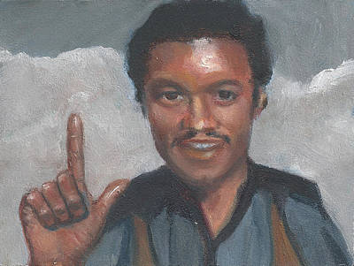 Painting - L Is For Lando by Jessmyne Stephenson