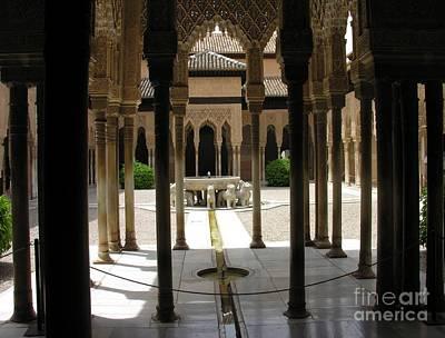 Photograph - la Alhambra - Grenada Spain by Jacqueline M Lewis