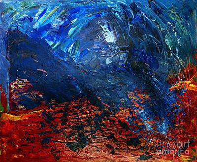 Charon Painting - La Barca De Caronte by Goran Nilsson