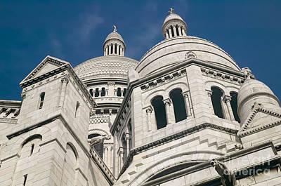 Photograph - La Basilique Du Sacre-coeur I by Clarence Holmes