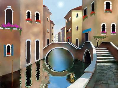 La Bella Vita Art Print by Larry Cirigliano