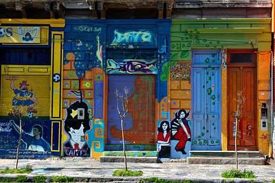 Door Photograph - La Boca Doors by Steven Richman