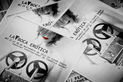 Photograph - La Boca Erotica by Pablo Lopez