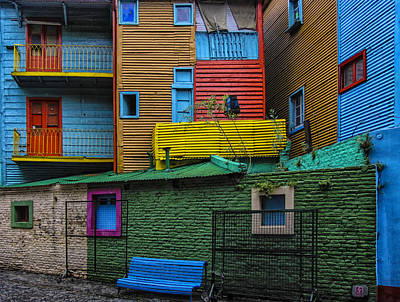 La Boca Art Print by Gary Hall