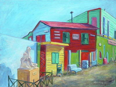 Painting - La Boca Morning I by Xueling Zou