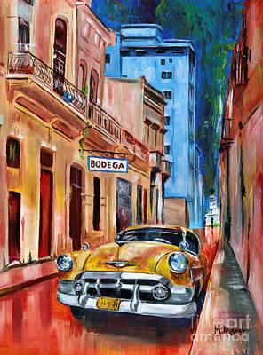 Painting - La Bodeguita by Maria Arango