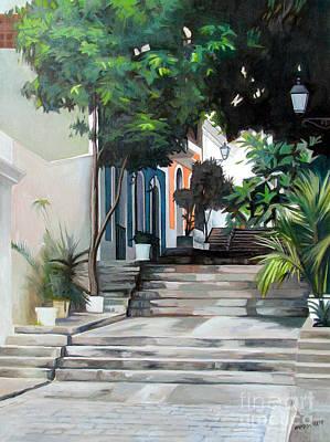 La Calle Del Hospital Original by Ben  Morales-Correa
