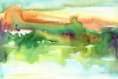 Waterscape Painting - La Camargue 14 by Miki De Goodaboom