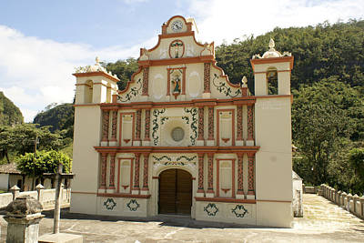 Photograph - La Campa Church Honduras by John  Mitchell