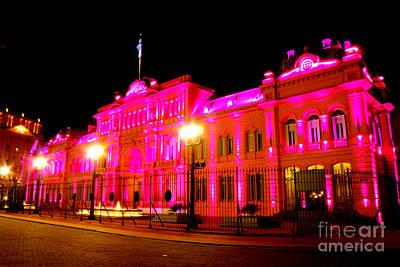 Photograph - La Casa Rosada IIi by Deborah Smolinske