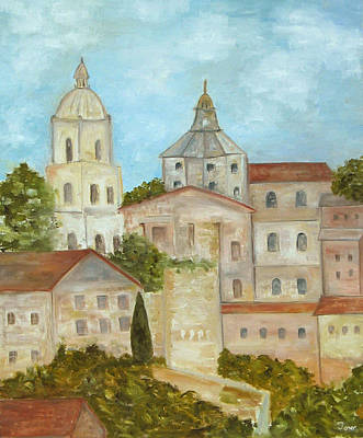 Painting - La Catedral De Segovia by Trish Toro