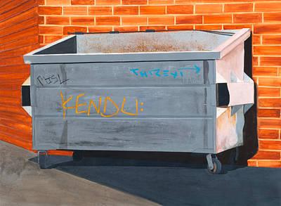 Painting - La Cienega by Jennifer Walker