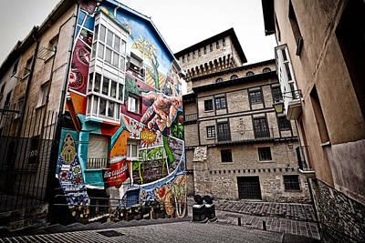 La Ciudad Pintada Art Print