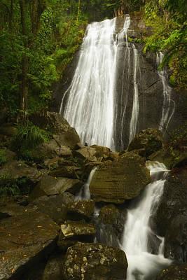Photograph - La Coca Falls  by Photography  By Sai