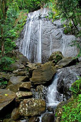 Photograph - La Coca Falls Puerto Rico by Alan Lenk