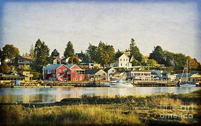 La Conner Waterfront Art Print