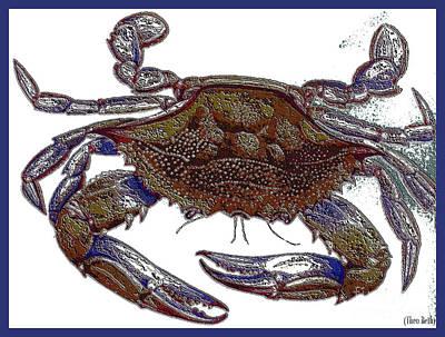 La' Crab Fest Art Print by Theo Bethel