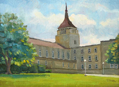 Painting - La Crosse Diocese by Jeff Dickson