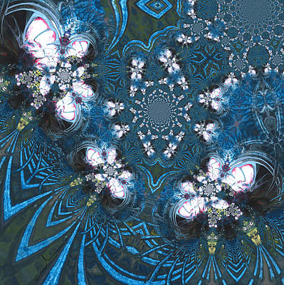 Painting - La Danse Des Papillons by Miki De Goodaboom