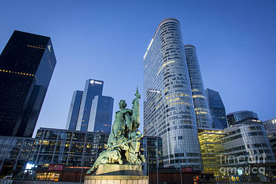 Photograph - La Defense Memorial by Brian Jannsen