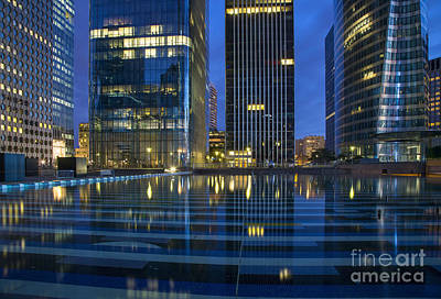 Photograph - La Defense - Modern Paris by Brian Jannsen