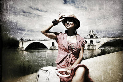 Photograph - La Demoiselle D'avignon by Selke Boris