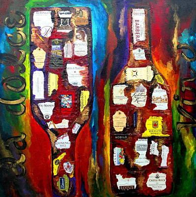 Painting - La Dolce Vino by Patti Schermerhorn