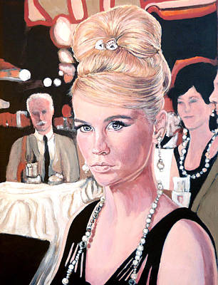 Painting - La Dolce Vita by Tom Roderick