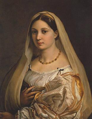 Raffaello Santi Painting - La Donna Velata - Woman With A Veil by Raphael