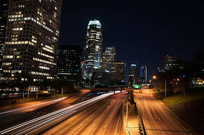 Photograph - La Down Town by Gandz Photography