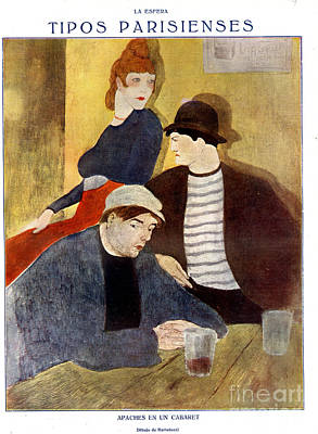 Prostitution Drawing - La Esfera 1920s Spain Cc Drinking Bars by The Advertising Archives