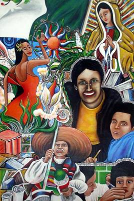 La Familia Art Print by Randy Segura