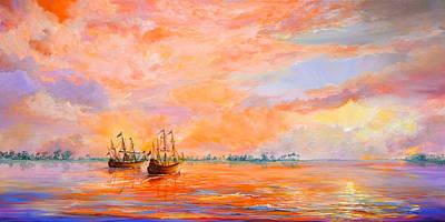 Painting - La Florida by AnnaJo Vahle